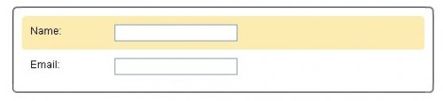 Improved Current Field Highlighting in Forms-Highlighting