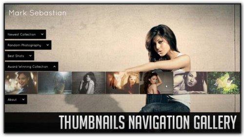 Thumbnails Navigation Gallery with jQuery.-Thumbnails-Navigation