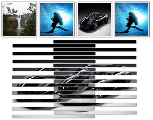 jQuery and CSS Image Accordion Effect-jQueryAccordion