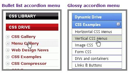 Create an Accordion Menu with javascript-AccordionMenu