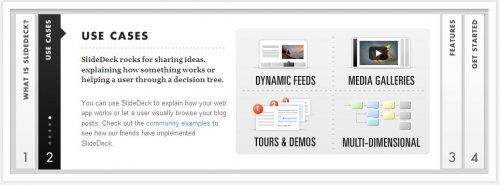 Deslizador acordión jQuery para organizar contenidos-SlideDeck