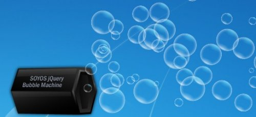 Animated Bubble generator Engine  for jQuery-BubbleEngine