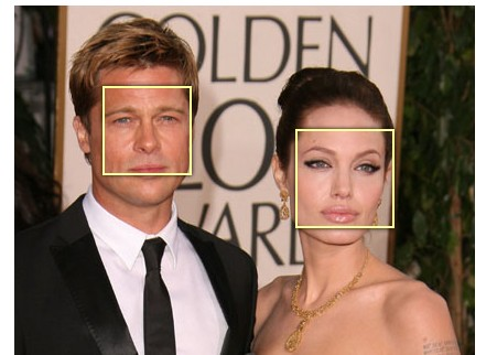 Detect faces in a picture with javascript and jQuery-FaceDetection