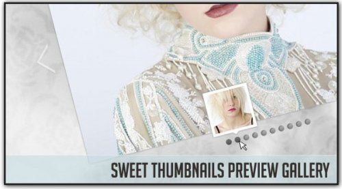 Sweet javascript Thumbnails Preview Gallery-SweetThumbnails