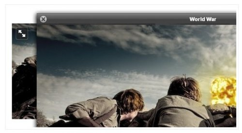 jQuery Ajax solution for displaying images in a lightbox pop-up-jQueryLightBox