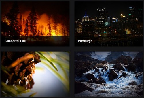 jQuery plugin to display  image captions that appear on rollover.-Captify