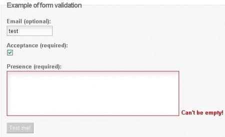 Javascript validation has just become self aware...-LiveValidation