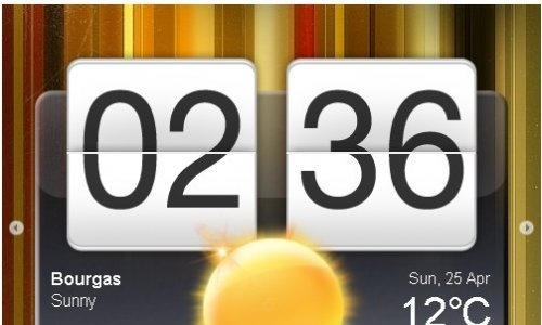 jQuery plugin inspired from HTC Hero Clock Widget.-jDigiClock tes