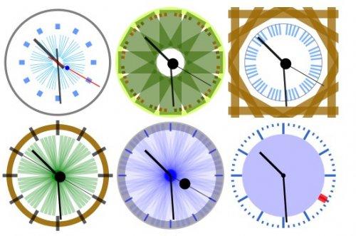 Analog clock in javascript-CoolClock