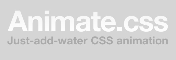 Libreria para crear animaciones con css3-css3 animations