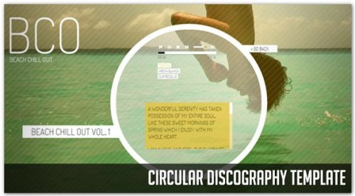 Circular HTML Template with jQuery-CircularTemplate