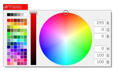Simple, flexible, easy-to-use color-picker for the Prototype Javascript framework.-ProColor