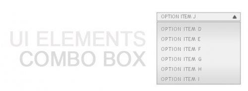 Auto Scrolling ComboBox-UI Elements