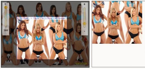Crop, rotate or zoom an image with jQuery-CropZoom