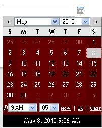 Selector de fecha, calendario prototype-CalendarDateSelect