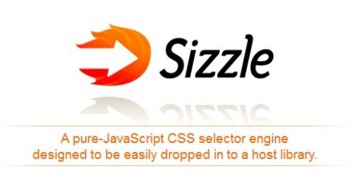 Pure JavaScript CSS selector-sizzlejs