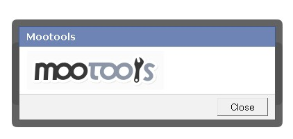 Alternativa a los box de facebook en mootools-Mootools FaceBox
