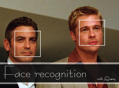 Face recognition with jQuery-faceDetection