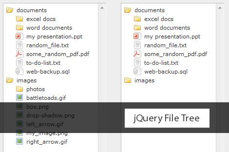 jQuery File Tree Directory plugin-jQueryFileTree