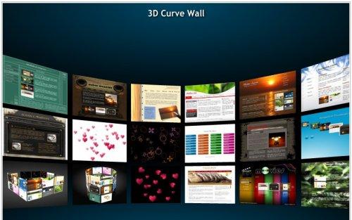 Galería 3D Flash Grátis similar a la versión de Flashloaded-3DGallery