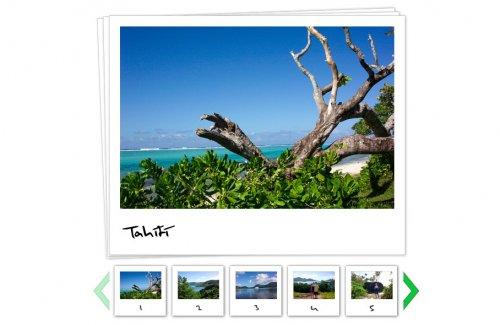 Galería de fotos flash xml-Photo Viewer