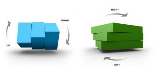 Display images and slides in 3D-CU3ER