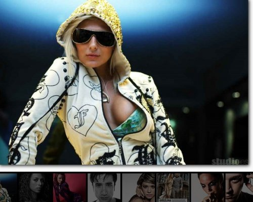 Fresh Sliding Thumbnails Gallery with jQuery and PHP-ThumbnailsGallery