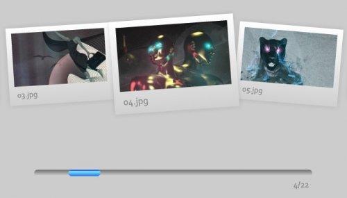 Build a Dynamic Flash Gallery with Slider Control-Dynamic Slider