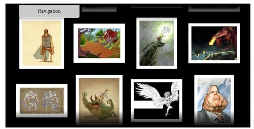 A free, easy to install, flash image gallery for your website.-Fig