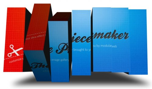 Flash XML 3D pictures Gallery-Piecemaker