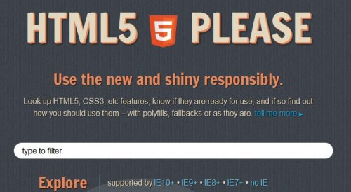 How to know if HTML 5 and CSS3  features are ready to use-html5please