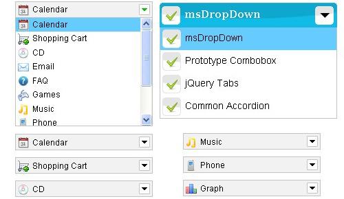 JavaScript custom dropdown-Image DropDown