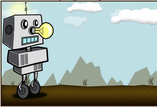 Create an Animated Robot with jQuery-AnimatedCartoon