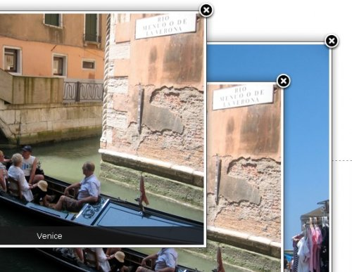 ImageZoom is based on LightBox JS, and is perfect for photo galleries.-MooLabs  ImageZoom