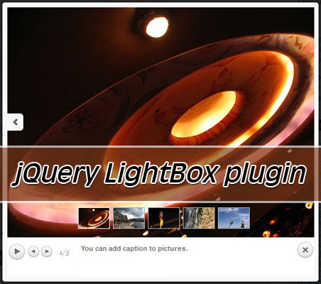 jQuery lightbox plugin-prettyPhoto