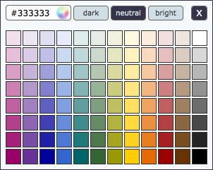 jQuery Color Picker for your website-KolorPicker
