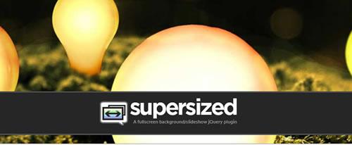 Full Screen Background/Slideshow jQuery Plugin-Supersized