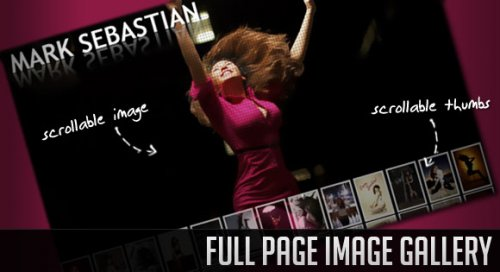 Full Page Image Gallery with jQuery-FullGallery