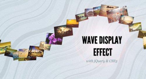 jQuery image Wave effect-WaveEffect