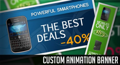 Custom Animation Banner with jQuery-AnimationBanner