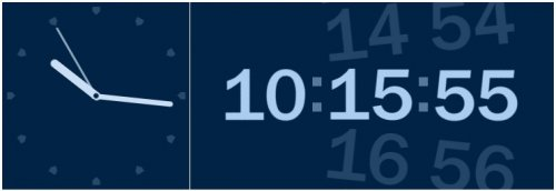 Free HTML clocks with jQuery and CSS rotation-HTMLClocks