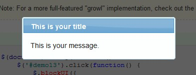 Block a web page to display a modal popup or a simple modal dialog-BlockUI
