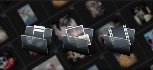 Galería multimedia para imágenes, video y audio.-MultimediaGallery