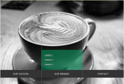 How to create a Beautiful Background Image Navigation with jQuery-Background Menu