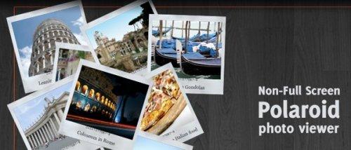 Plugin jQuery, Visor de fotos miniatura al estilo polaroid-Polaroid