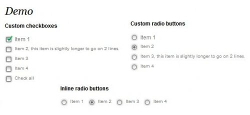 Have a consistent look for checkboxes across browser or those who simply want them to look better.-PrettyCheckboxes