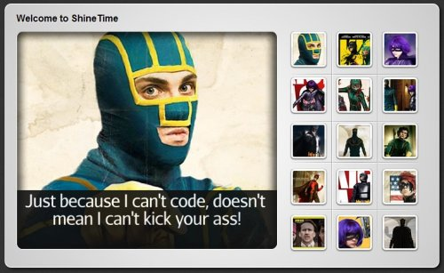 A Kick-Ass New jQuery and CSS3 Gallery With Animated Shine Effects-kickAssGallery