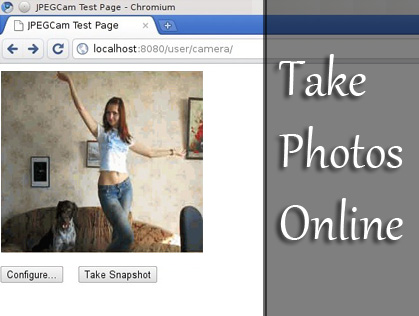 Take pictures in your website using a web cam with javascript-JpgCam