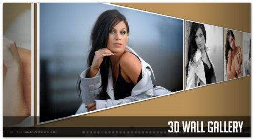 Galería Javascript 3D-3DWall Gallery