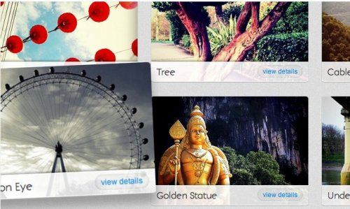 Create a 3D image gallery with CSS3 and jQuery - Css3 gallery